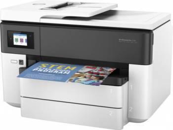 МФУ HP Officejet Pro 7730 белый / темно-синий