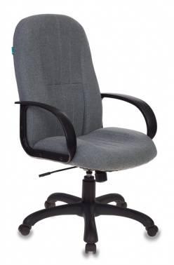 Кресло руководителя Бюрократ T-898AXSN серый (T-898AXSN/10-128)