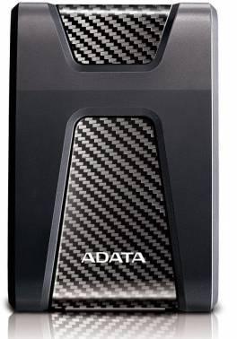 Внешний жесткий диск 2Tb A-Data DashDrive Durable HD650 черный USB 3.0 (AHD650-2TU31-CBK)