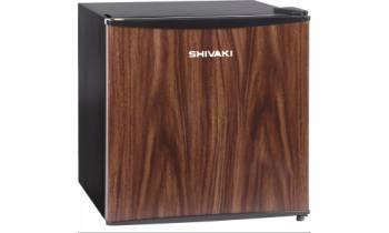 Холодильник Shivaki SDR-052T темное дерево