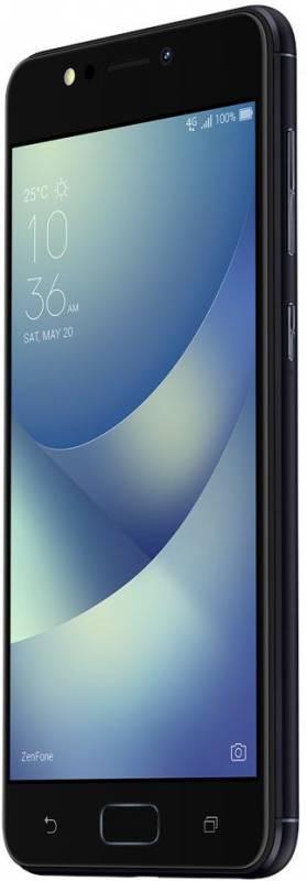 Смартфон Asus ZenFone Max ZF4 ZC520KL 32ГБ черный - фото 3