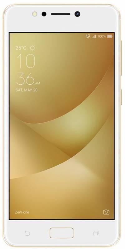Смартфон Asus ZenFone Max ZF4 ZC520KL 32ГБ золотистый (90AX00H2-M01610) - фото 1
