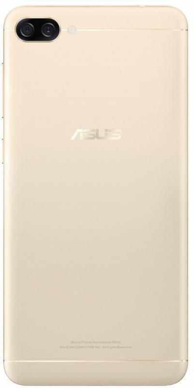 Смартфон Asus ZenFone Max ZF4 ZC520KL 32ГБ золотистый - фото 2