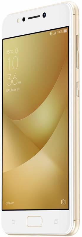 Смартфон Asus ZenFone Max ZF4 ZC520KL 32ГБ золотистый - фото 3