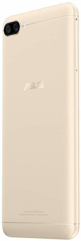 Смартфон Asus ZenFone Max ZF4 ZC520KL 32ГБ золотистый - фото 4