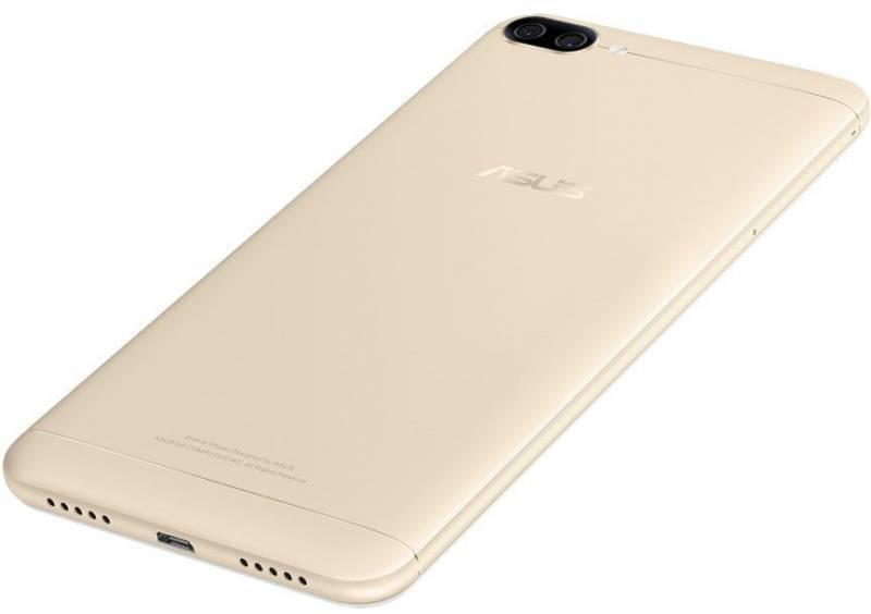 Смартфон Asus ZenFone Max ZF4 ZC520KL 32ГБ золотистый (90AX00H2-M01610) - фото 5