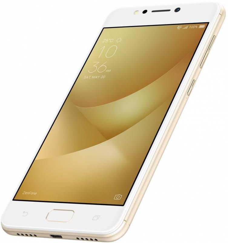 Смартфон Asus ZenFone Max ZF4 ZC520KL 32ГБ золотистый (90AX00H2-M01610) - фото 6