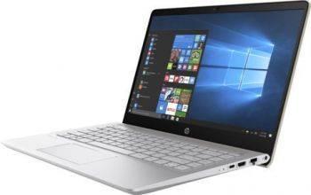 "Ноутбук 14"" HP Pavilion 14-bf103ur золотистый (2PP46EA)"