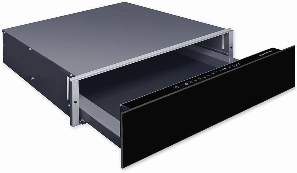 Шкаф для подогрева посуды Gorenje WD1410BG черный - фото 1