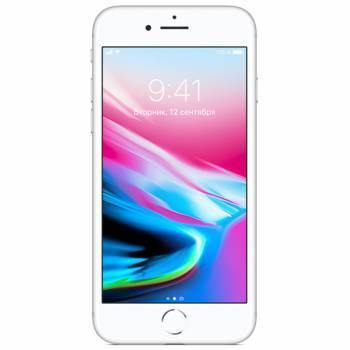 Смартфон Apple iPhone 8 MQ6H2RU/A 64ГБ серебристый