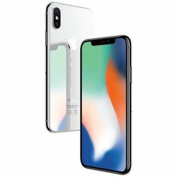 Смартфон Apple iPhone X MQAD2RU/A 64ГБ серебристый
