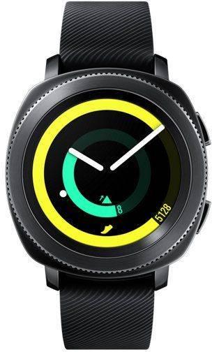 Смарт-часы SAMSUNG Galaxy Gear Sport черный (SM-R600NZKASER) - фото 1