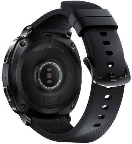 Смарт-часы SAMSUNG Galaxy Gear Sport черный (SM-R600NZKASER) - фото 2