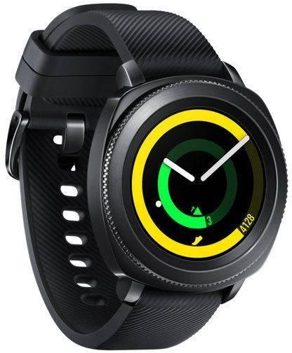 Смарт-часы SAMSUNG Galaxy Gear Sport черный (SM-R600NZKASER) - фото 4