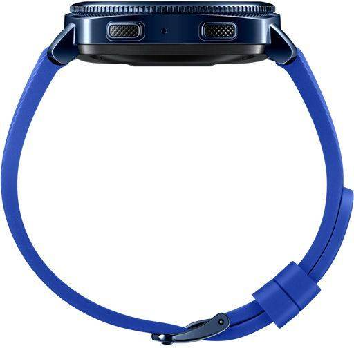 Смарт-часы SAMSUNG Galaxy Gear Sport синий (SM-R600NZBASER) - фото 5