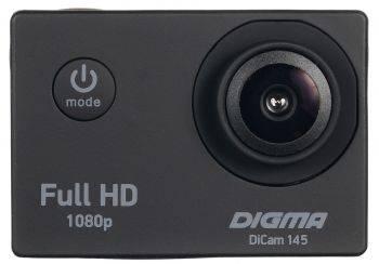 Экшн-камера Digma DiCam 145 черный (DC145)
