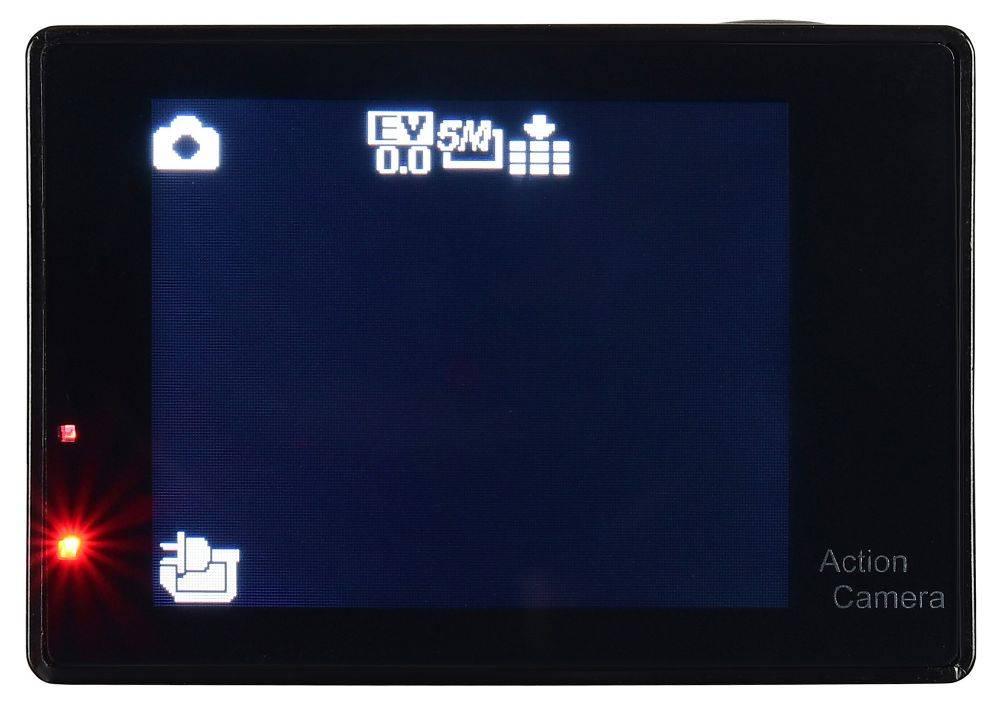 Экшн-камера Digma DiCam 145 черный (DC145) - фото 10