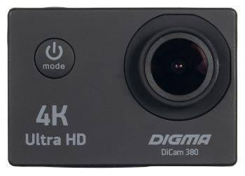 Экшн-камера Digma DiCam 380 черный (DC380)