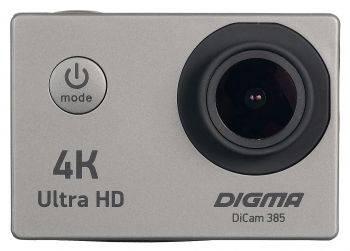 Экшн-камера Digma DiCam 385 серый (DC385)