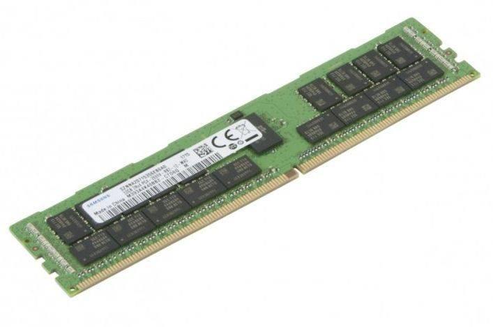 Модуль памяти DIMM DDR4 1x32Gb SuperMicro MEM-DR432L-SL02-ER26 - фото 1