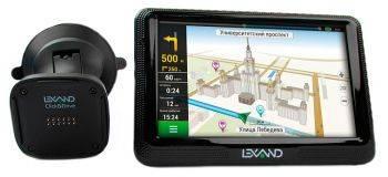 GPS-навигатор Lexand CD5 HD 5 черный