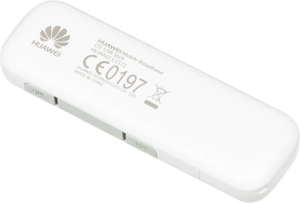 Модем 2G/3G/4G Huawei E3372h-153 USB белый - фото 3