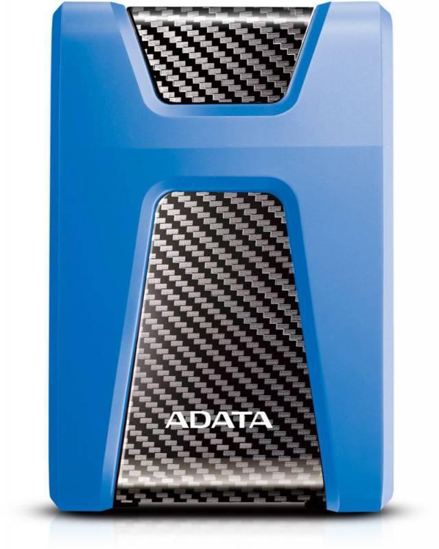 Внешний жесткий диск 1Tb A-Data HD650 DashDrive Durable синий USB 3.1 - фото 1