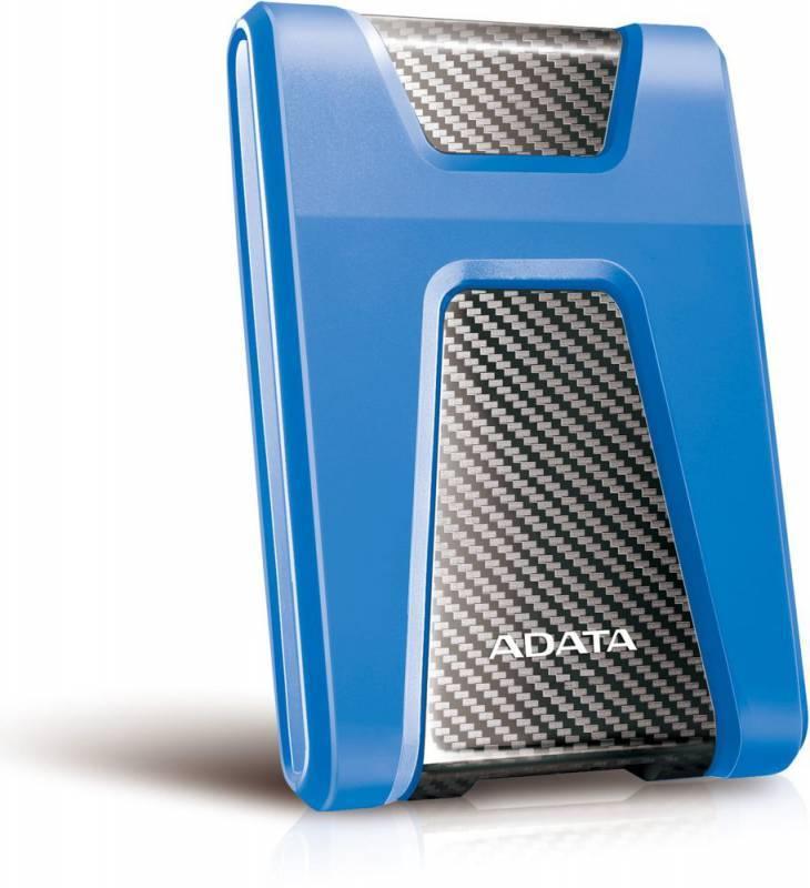 Внешний жесткий диск 1Tb A-Data HD650 DashDrive Durable синий USB 3.1 - фото 2