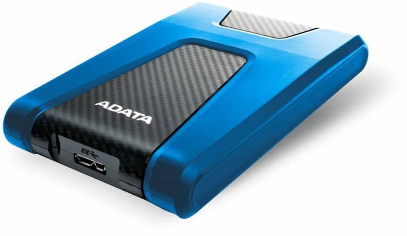 Внешний жесткий диск 1Tb A-Data HD650 DashDrive Durable синий USB 3.1 - фото 3
