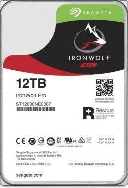 Жесткий диск 12Tb Seagate Ironwolf Pro ST12000NE0007 SATA-III