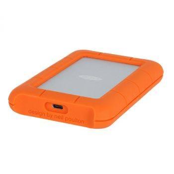 Внешний жесткий диск 2Tb Lacie STFR2000800 Rugged Mini оранжевый USB-C