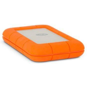 Внешний жесткий диск 2Tb Lacie STFS2000800 Rugged оранжевый USB-C