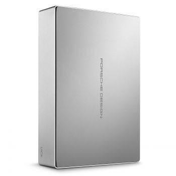 Внешний жесткий диск 4Tb Lacie STFE4000401 Porsche Design Desktop серебристый USB 3.1