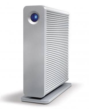 Внешний жесткий диск 6Tb Lacie STGJ6000400 D2 Quadra серебристый USB 3.0