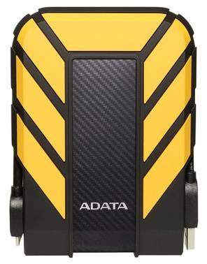 Внешний жесткий диск 2Tb A-Data HD710P DashDrive Durable черный / желтый USB 3.1