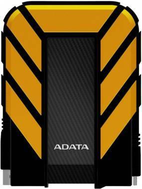 Внешний жесткий диск 1Tb A-Data HD710P DashDrive Durable черный / желтый USB 3.0