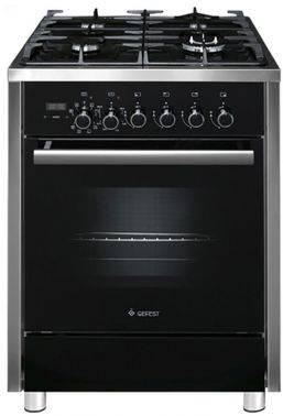 Плита комбинированная Gefest ПГЭ 6702-04 черный