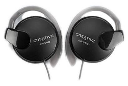 Наушники Creative EP-550 черный - фото 1