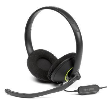 Наушники с микрофоном Creative HS-450 черный (51EF0100AA004)