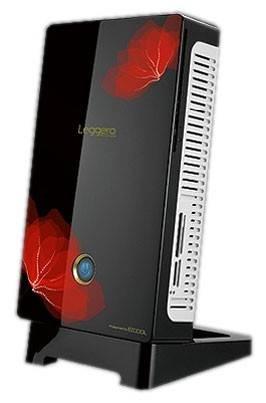 Корпус miniITX 60W Ezcool W-100M (без подставки) черный/красный - фото 1