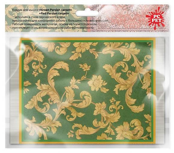 Коврик для мыши PC Pet MP-DI02 MP-DI carpet зеленый/рисунок - фото 2