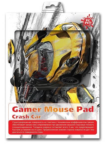 Коврик для мыши PC Pet Yellow car MP-GM02 Gamer рисунок - фото 2