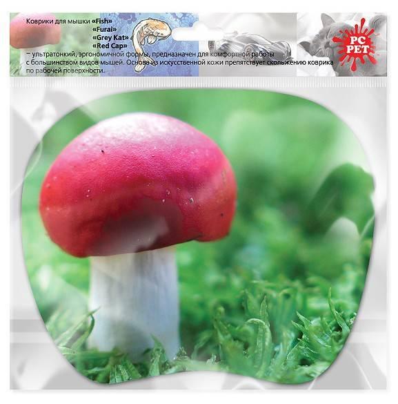 Коврик для мыши PC Pet MP-TOM TURBO Mushroom MP-TMMU рисунок (MP-TMMU TURBO (MUSHROOM)) - фото 2