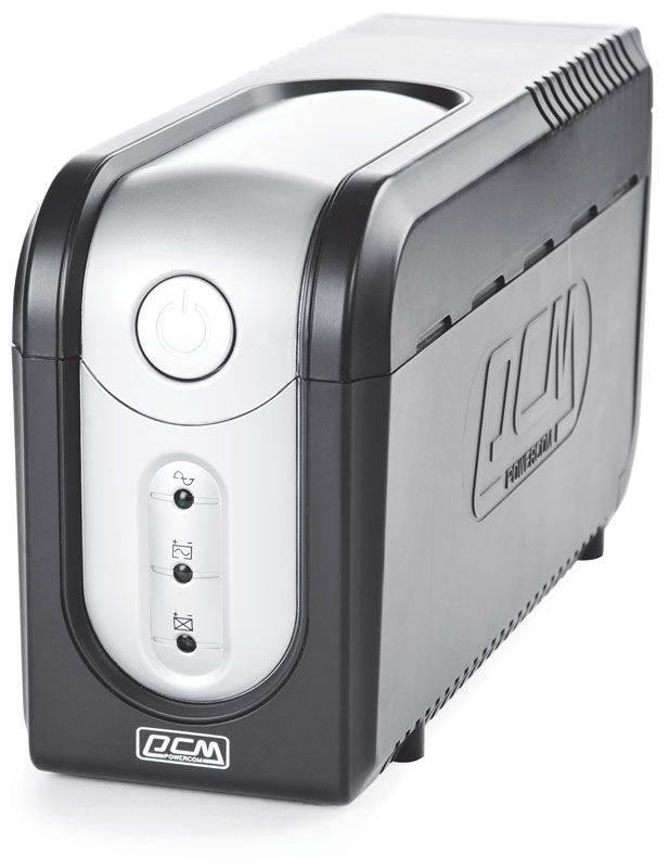 ИБП Powercom Imperial IMP-625AP черный - фото 2