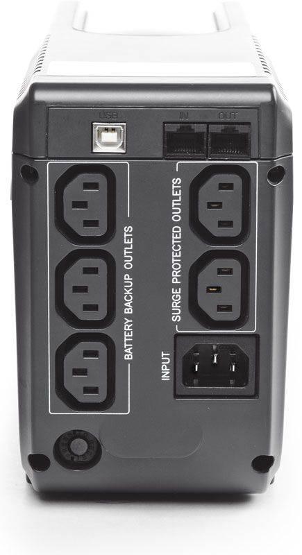 ИБП Powercom Imperial IMP-625AP черный - фото 3