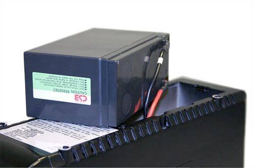 ИБП Powercom Imperial IMP-625AP черный - фото 4