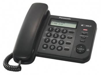 Телефон Panasonic KX-TS2356RUB черный