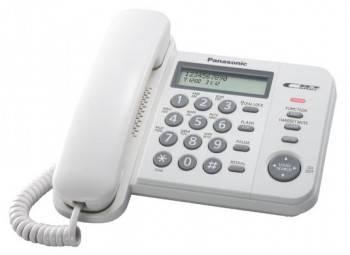 Телефон Panasonic KX-TS2356RUW белый
