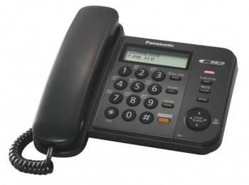 Телефон Panasonic KX-TS2358RUB черный