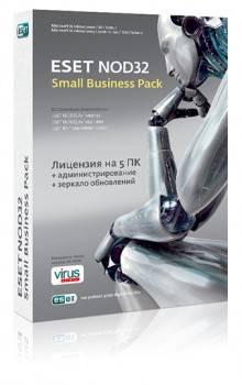 Антивирус  ESET NOD32-SBP-NS(BOX)-1-5